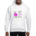 Any Day Spent Stitching - Goo Hooded Sweatshirt