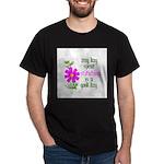 Any Day Spent Stitching - Goo Dark T-Shirt