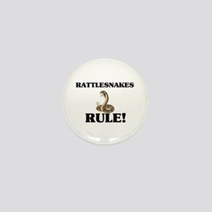 Rattlesnakes Rule! Mini Button