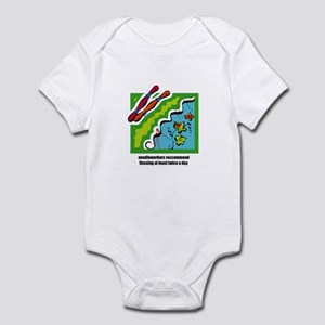 Needleworkers Embroidery Flos Infant Bodysuit