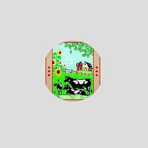 The Barn Mini Button