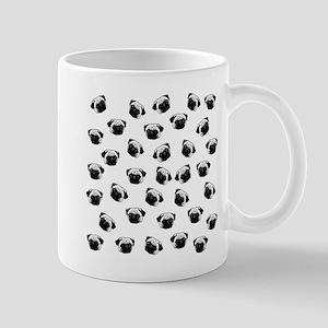 Pug dog pattern Mugs
