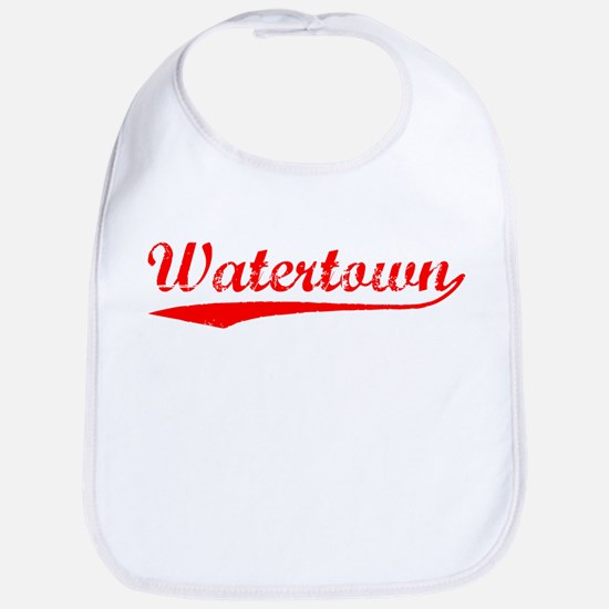 Vintage Watertown (Red) Bib