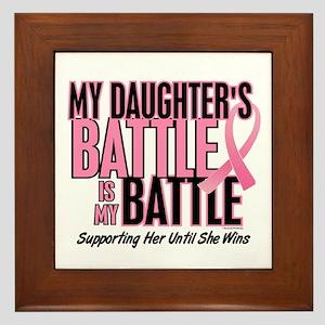 My Battle Too 1 (Daughter BC) Framed Tile