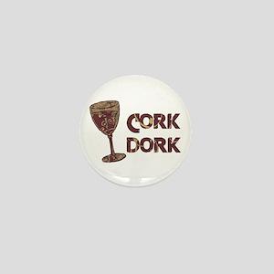 Cork Dork Mini Button