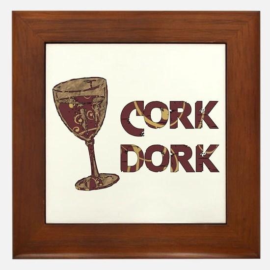 Cork Dork Framed Tile