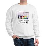 Artist Paints - Colorful Pers Sweatshirt