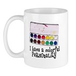 Artist Paints - Colorful Pers Mug