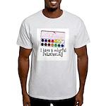 Artist Paints - Colorful Pers Light T-Shirt