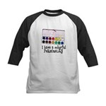 Artist Paints - Colorful Pers Kids Baseball Jersey