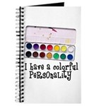 Artist Paints - Colorful Pers Journal