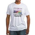Artist Paints - Colorful Pers Fitted T-Shirt