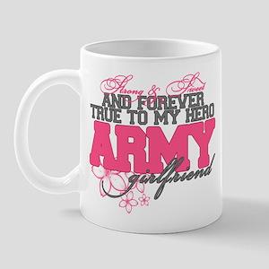 Strong&Sweet Army Girlfriend Mug