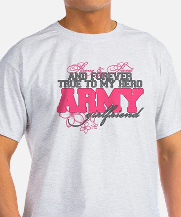 Strong&Sweet Army Girlfriend T-Shirt