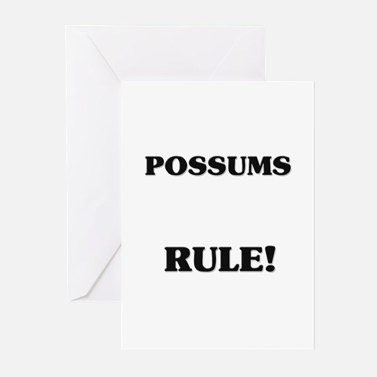 Possums Rule! Greeting Cards (Pk of 10)