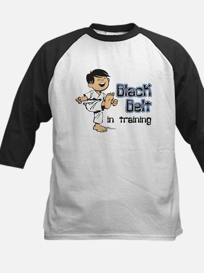 Black Belt in Training Kids Baseball Jersey