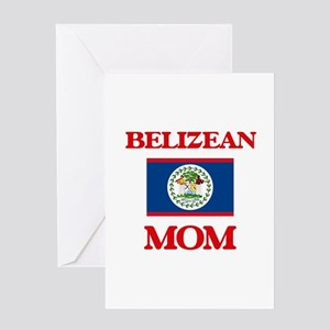 Belizean Mom Greeting Cards