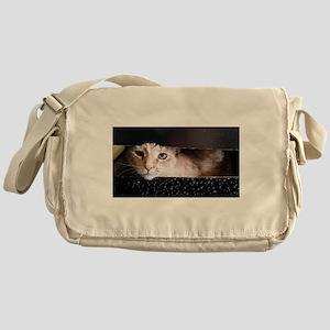 Cosmic Kitty Messenger Bag