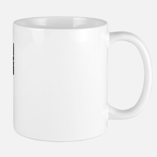 Suisun City Faded (Black) Mug