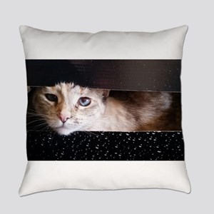 Cosmic Kitty Everyday Pillow