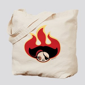 KlawBerry Angry Fire Tote Bag