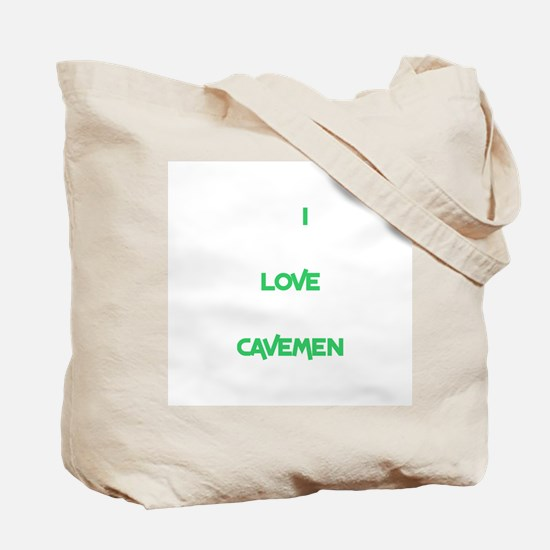 Caveman Tote Bag (with 2 different sayings!)