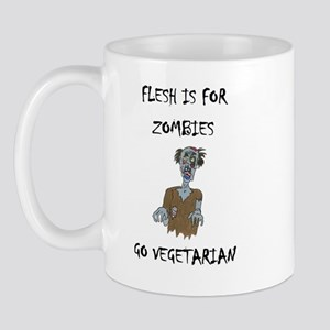 flesh is for ZOMBIES (PETA) Mug