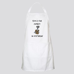 flesh is for ZOMBIES (PETA) BBQ Apron