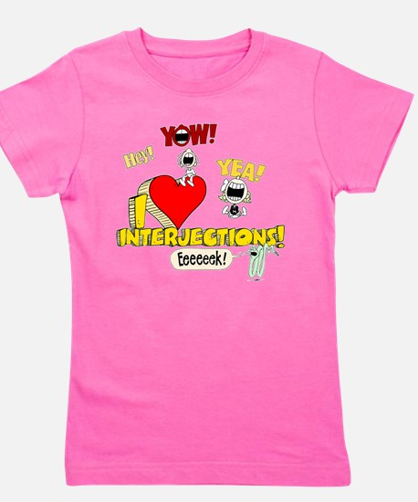 I Heart Interjections T-Shirt