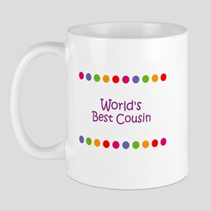 World's Best Cousin Mug
