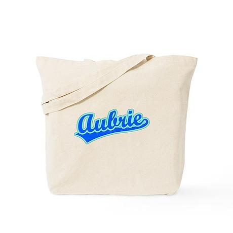 Retro Aubrie (Blue) Tote Bag