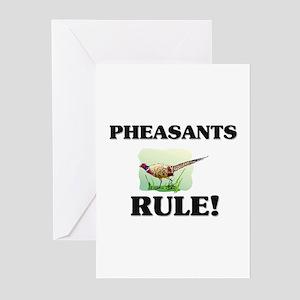 Pheasants Rule! Greeting Cards (Pk of 10)