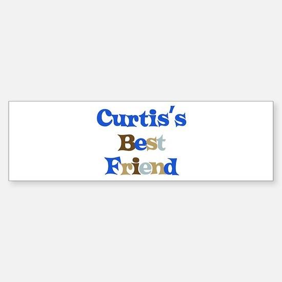Curtis's Best Friend Bumper Bumper Bumper Sticker