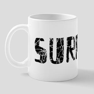 Surprise Faded (Black) Mug