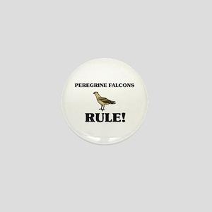 Peregrine Falcons Rule! Mini Button