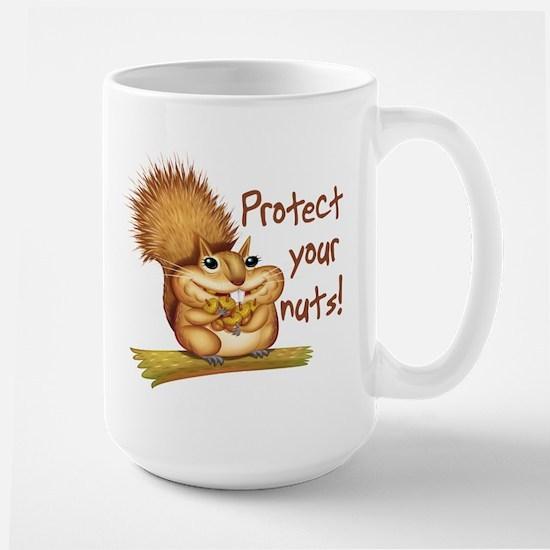 Protect Your Nuts Large Mug