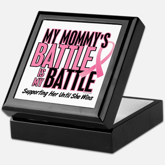 My Battle Too 1 (Mommy BC) Keepsake Box