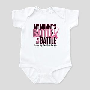 My Battle Too 1 (Mommy BC) Infant Bodysuit