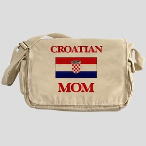 Croatian Mom Messenger Bag