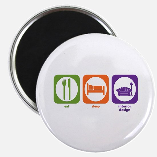 Eat Sleep Interior Design Magnet