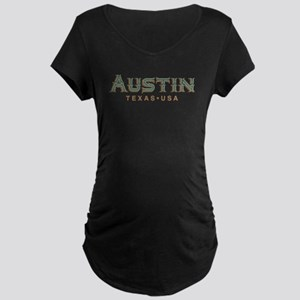 Retro Austin Maternity T-Shirt