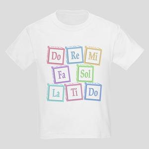 Solfege Baby Blocks Kids Light T-Shirt