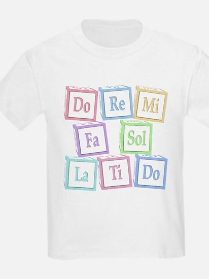 Solfege Baby Blocks T-Shirt