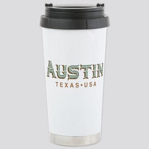 Retro Austin Stainless Steel Travel Mug