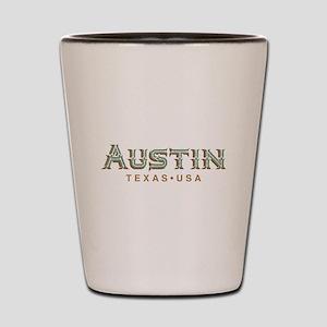 Retro Austin Shot Glass
