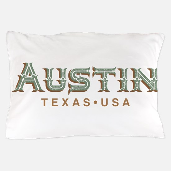 Retro Austin Pillow Case