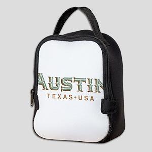 Retro Austin Neoprene Lunch Bag