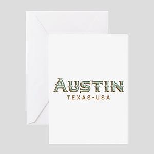 Austin tx greeting cards cafepress retro austin greeting cards m4hsunfo