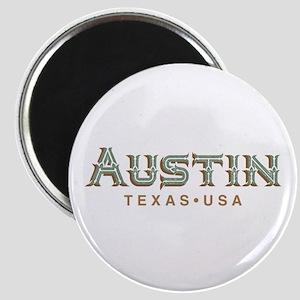 Retro Austin Magnets