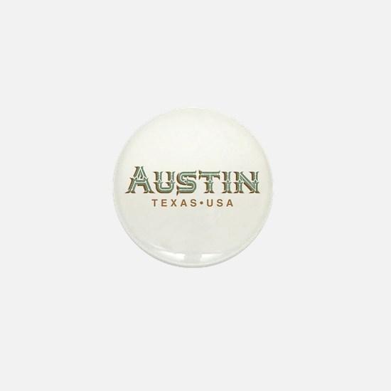 Retro Austin Mini Button